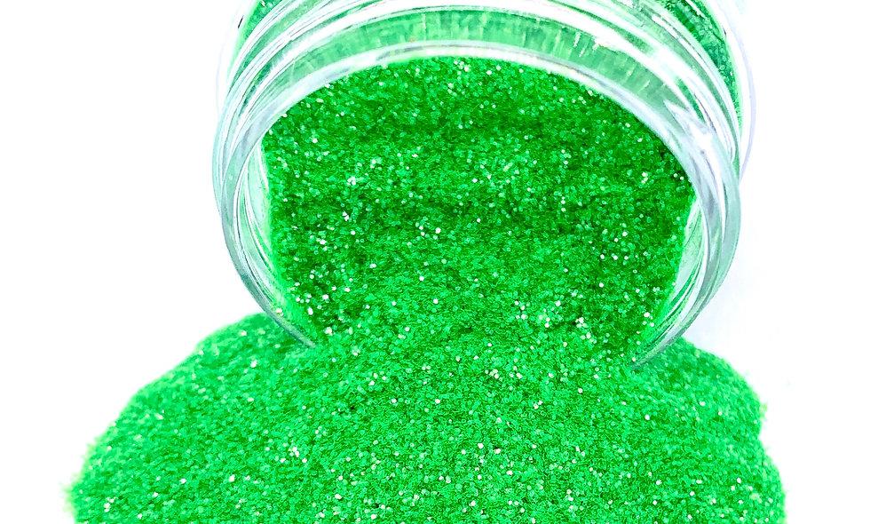 Neon Green Glitter