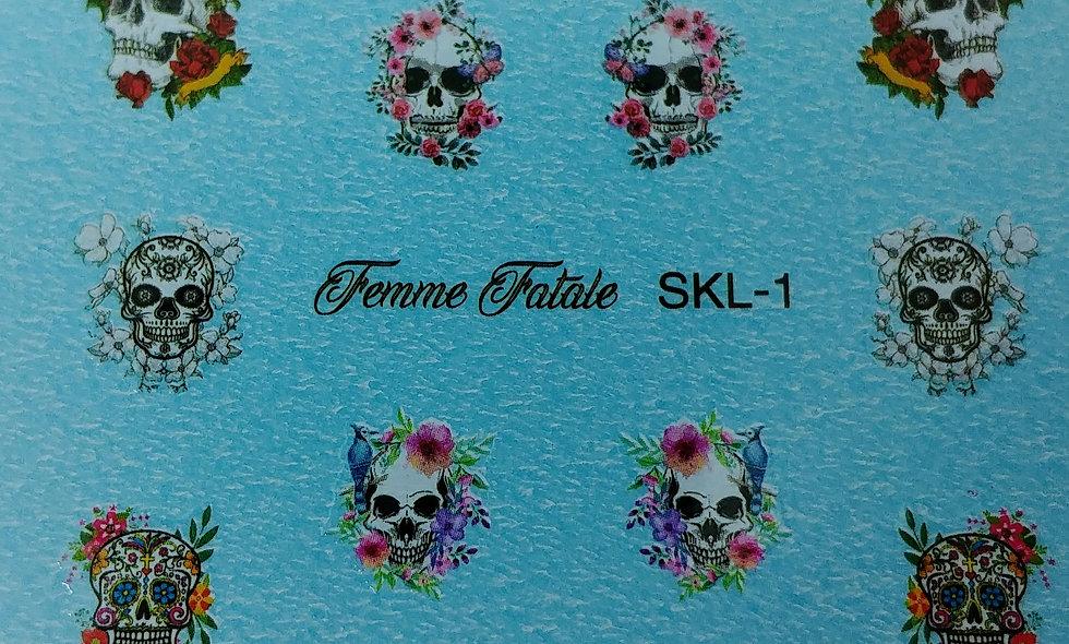 Skulls - Design 1