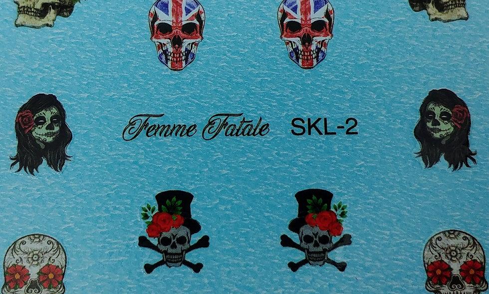 Skulls - Design 2