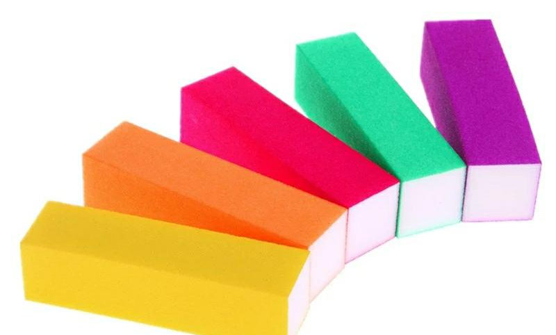 Rainbow Block Buffers (Pack of 5)