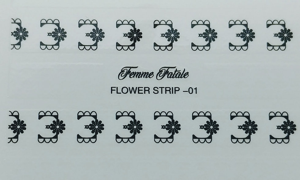 Flower Strip - Design 1