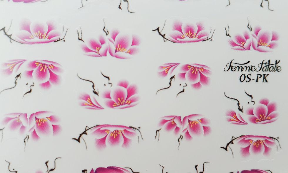 One Stroke Flower - Pink
