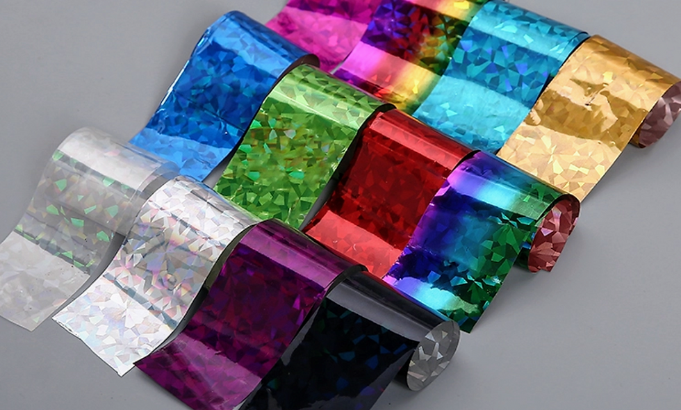 Mixed Foil Shards (Pack of 12)