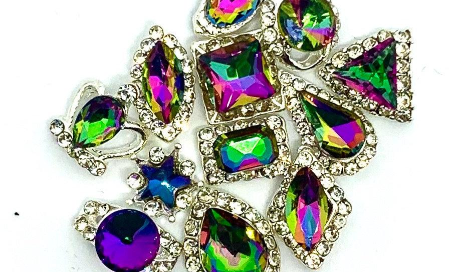 Rainbow AB Crystals