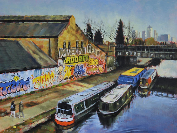 On The Canal, East London.