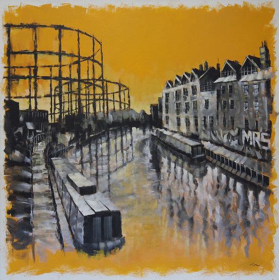 Gasworks, Regent's Canal