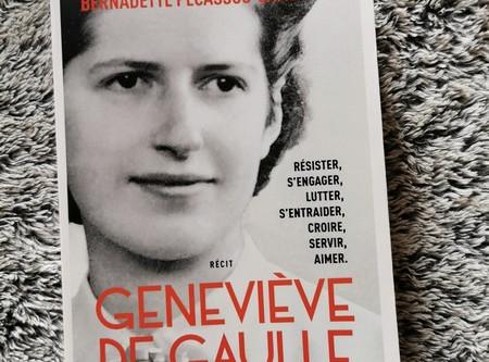 Geneviève de Gaulle les yeux ouverts