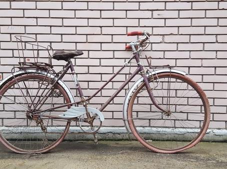 Un vieux vélo