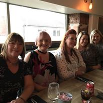 Donna, Lorraine, Emma, Kirsty + Tracy