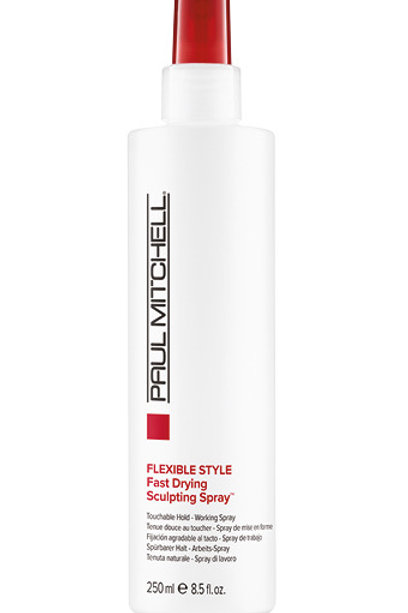 Flexible Style 'Fast Drying Sculpting spray'