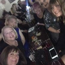 Donna, Oddette, Nicola, Lorraine, Kim, Taylor + Gillian