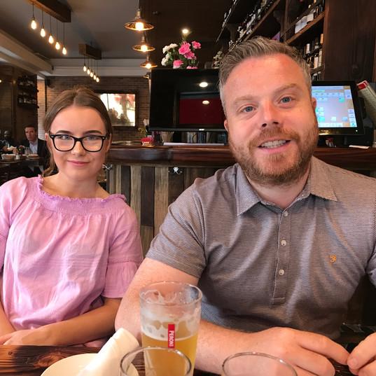 Caitlin and Jamie