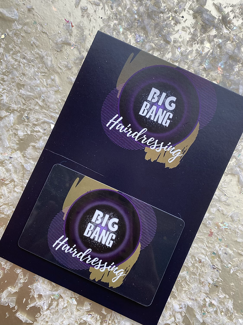 Big Bang Hairdressing gift voucher