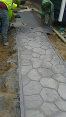 STAMPED/DESIGNED CONCRETE SIDEWALK