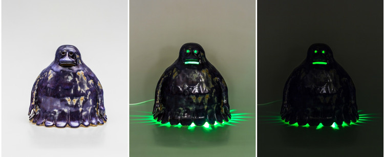 """Hufsa / The Groke - night lamp for grown-ups"", 2014"