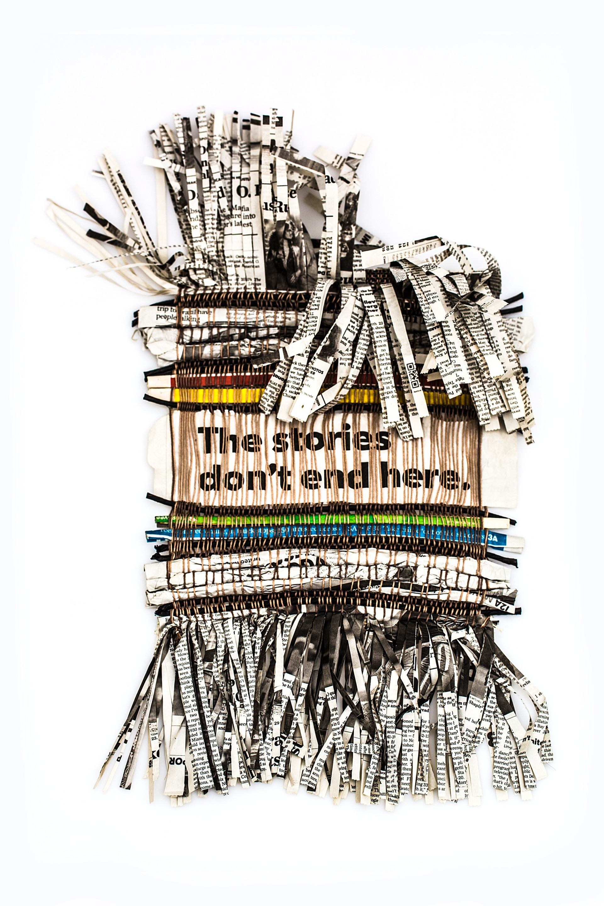 """""""The stories don't end here."""", 2013"""