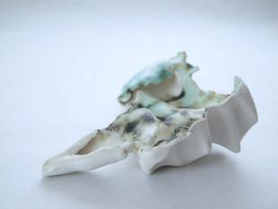 Porcelain, oxidation, 2018.