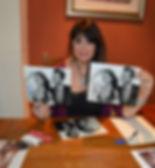 Caroline Signing Dual Photographs.jpg