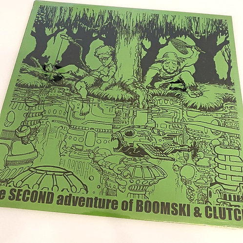 DJ BOOM – The Adventures of Boomski & Clutch Part 2 Vinyl