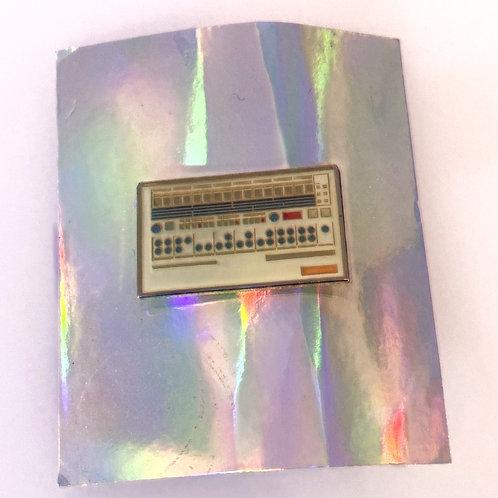 Roland TR-909 Drum Machine Pin