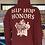 "Thumbnail: Sedgwick & Cedar ""Hip-Hop Honors"" Hoodie XL (Burgundy)"