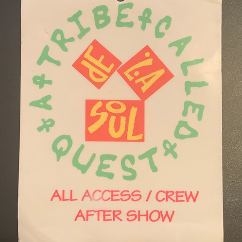 Rare Vintage All Access Crew Pass from Italy 1991