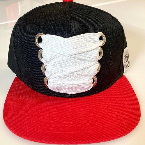 THC Fat Lace Felt HHM Hat (Black/Red)