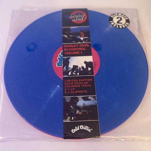 "Marley Marl – In Control Vol1 (Double Blue & Pink 12"" Vinyl Album)"