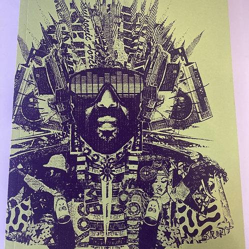 Rare 'Renegades of Rhythm' Tour Booklet by Boo-Hooray (DJ Shadow & Cut Chemist)