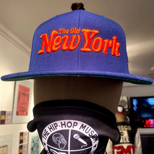 "DJ DOO WOP ""The Old New York"" Snapback (Denim/Orange)"