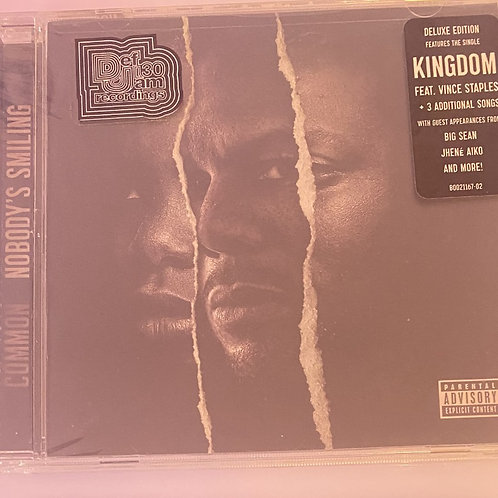Common – Nobody's Smiling (Signed)