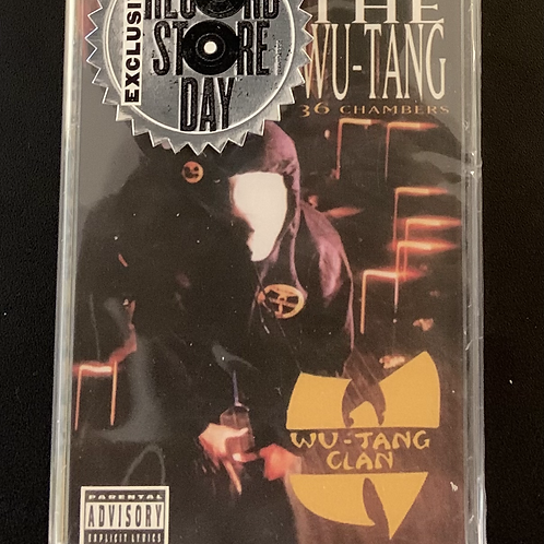 """Wu-Tang RSD """"Enter The 36 Chambers"""" (Sealed Cassette)"""