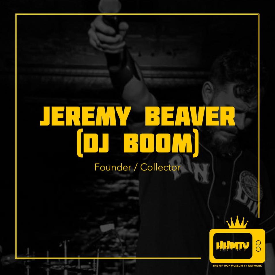 Meet Jeremy Beaver (DJ Boom)