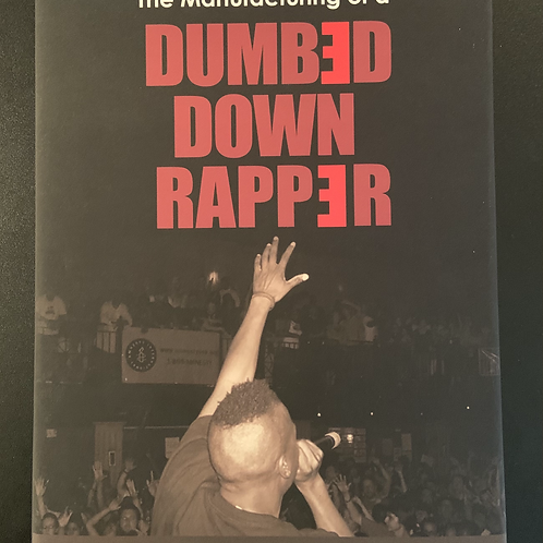 """Wise Intelligent """"Dumbed Down Rapper"""" Book (Autographed)"""