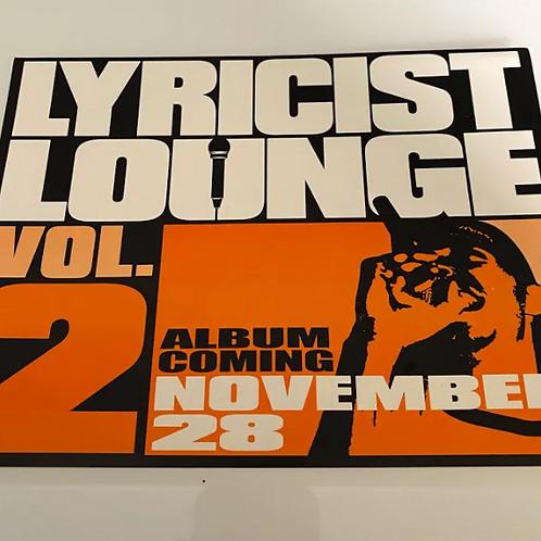 Rawkus Vintage Sticker (Lyricist Lounge Vol. 2)
