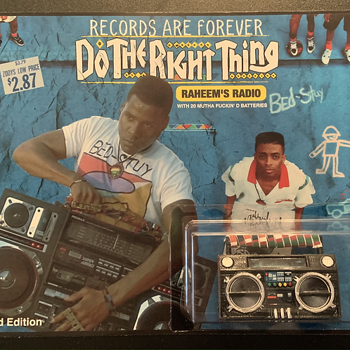 "Mini Boombox ""Do The Right Thing"""