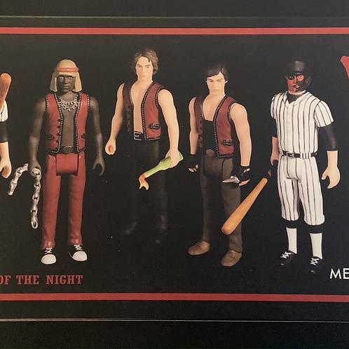 Mezco 5 Points 'The Warriors' Action Figures