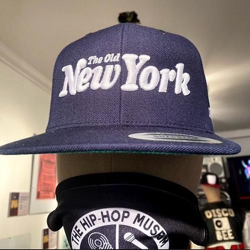 "DJ DOO WOP ""The Old New York"" Snapback (Denim/White)"