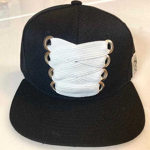 THC Fat Lace Felt HHM Hat (Black/Black)
