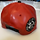 Thumbnail: THC Fat Lace Leather HHM Hat (Red/Black)