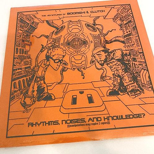 DJ BOOM – The Adventures of Boomski & Clutch Vinyl