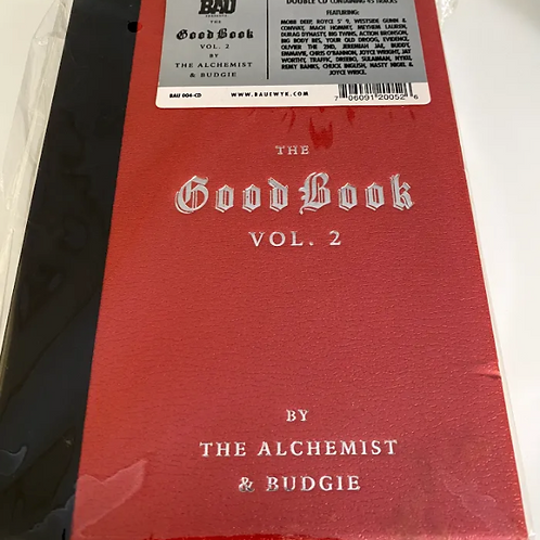 """The Alchemist & Budgie – """"The Good Book"""" Vol. 2 (Limited Edition)"""