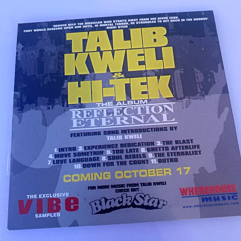 Talib Kweli & Hi-Tek – Reflection Eternal
