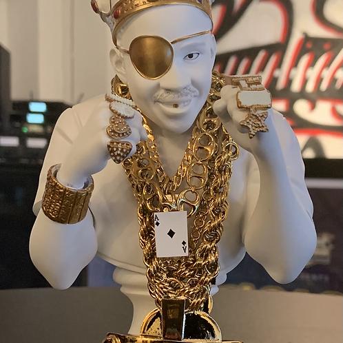 Slick Rick 35th Def Jam Anniversary Gold Bust