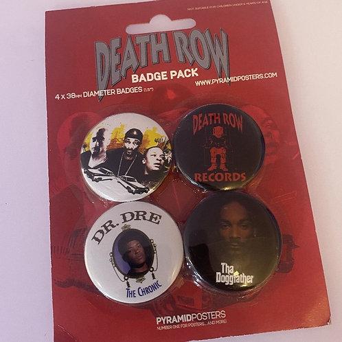 Death Row Badge Pack