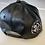 Thumbnail: THC Fat Lace Leather HHM Hat (Black/Black)