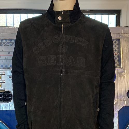 Sedgwick & Cedar Suede Jacket XXL (Black)