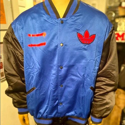 "RUN-DMC ""Hollis Crew"" Adidas Satin Jacket (XXL)"