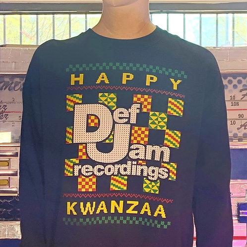 Mega Rare Vintage 1992 Def Jam Kwanzaa Sweatshirt (XL)