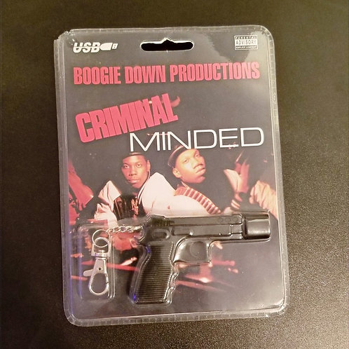 "USB Stick Gun ""Criminal Minded"" Rare Cuts Digital Album"